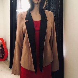 Forever 21 Blazer Office Jacket Two Tone 2X